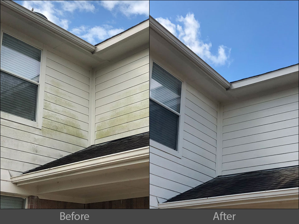exterior house siding pressure washing